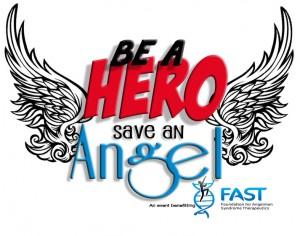 be a hero logo