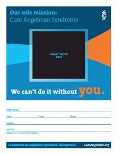Cure Angelman syndrome template