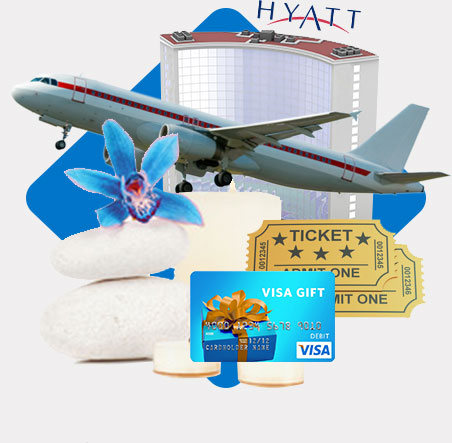 hotel, airplane, tickets, giftcard