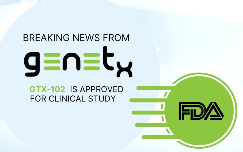GTX102 Clinical Study